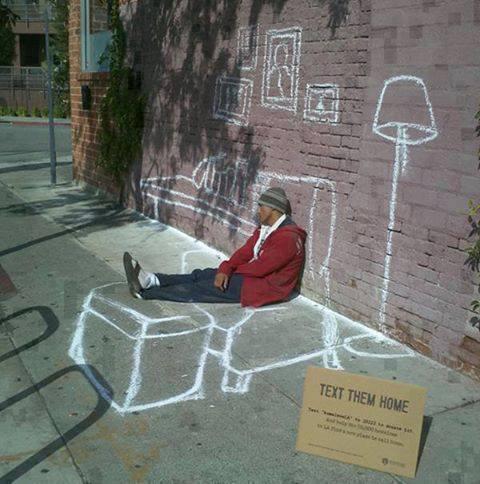 Homeless Luke.